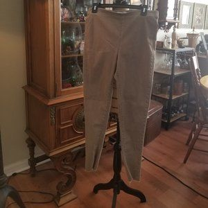 Free People nude taupe jeggings size 28